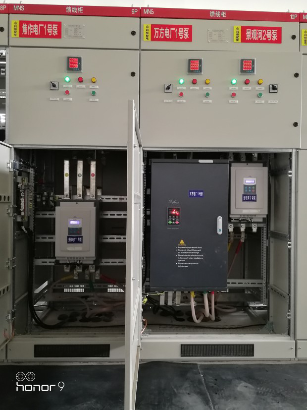 德弗斯变频器D700在恒压供水中的应用(焦作)